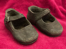Pair Of Antique Preserved Baby Girl Shoes