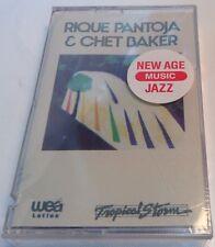 RIQUE PANTOJA & CHET BAKER Tape Cassette TROPICAL STORM Wea Latina WH-55155 JAZZ