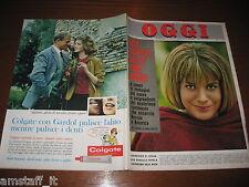 RIVISTA OGGI 1963/5=CATHERINE SPAAK=ALAIN DELON=BRIGITTE BARDOT=LIONELLO ALBERTO