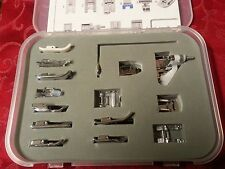 "Low Shank Foot Feet 17 pc. Sewing Set Lot  VIKING HUSQVARNA    ""Many Extras"""