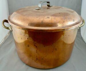 schöner Kochtopf Kupfer Portugal
