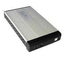 """CASE BOX ESTERNO PER HARDISK HARD DISK IN ALLUMINIO HD 3.5"""" IDE SATA USB 2.0 SC0"""