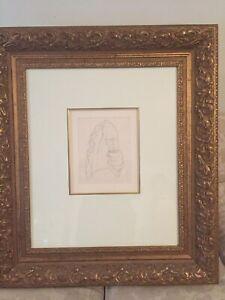 Norman Lindsay, Gentleman's Court Shirt, Unsigned, Pencil on paper,18cm x 13.9cm