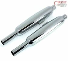 Pair of BSA A7/A10 Exhaust Silencers