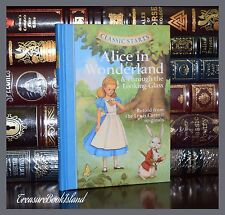Alice in Wonderland & Through Looking Glass by Carroll New Illustrated Hardcover