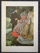Monet 1978 La Grenouillere Oil On Canvas Reprint