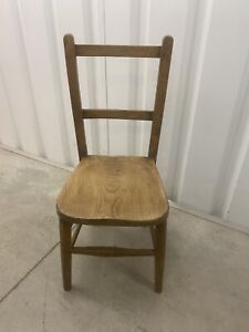 Vintage Wooden Childs Chair