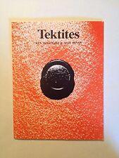 Tektites by Ken McNamara and Alex Bevan (2nd rev. edition, 1991)