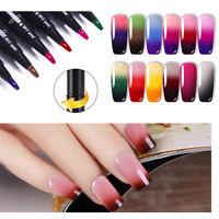 5ML LEMOOC Température Color Changing Vernis gel UV Pen Nail Gel Polish