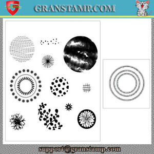 CIRCLE CELEBRATION Metal Cutting Dies and Stamps (Price include STAMP and DIE)