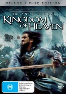 Kingdom Of Heaven DVD DRAMA Liam Neeson, Orlando Bloom, Ridley Scott Movie