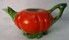 ROYAL BAYREUTH china TOMATO Teapot - BASE - NO Lid - Blue Mark