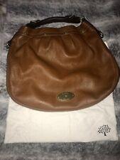 Genuine MULBERRY East West Mitzy Hobo Handbag/Shoulder Bag In Tan Soft Leather❤️