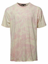 FashionOutfit Men's Casual Tie-dye Short Sleeve Crew Neck Tee
