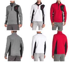 NWT Men's Authentic Spyder Raider Pullover Sweater 1/4 zip Variety Warm Layering