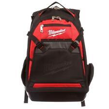 Milwaukee Tool Laptop Backpack Heavy Duty Storage Pocket Compartment Jobsite Bag