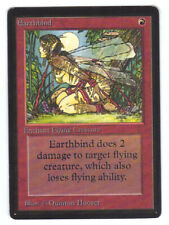 MTG - Earthbind NM- Limited Edition BETA English Entrave Chtonienne