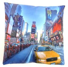 NEW YORK YELLOW TAXI COLOUR CUSHION COVERS PRINTED DIGITAL