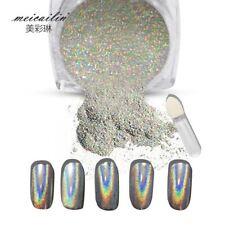 1g/Box Shiny Laser Nail Holographic Powder Rainbow Nails Glitter Dust Chrome Pig