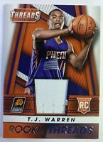 2014-15 Panini Rookie Threads TJ Warren RC #44, Pacers, Suns, Insert