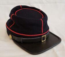 American Civil War Union Artillery Officers Enlisted Kepi Visor Hat Cap