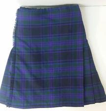 Espíritu de Escocia Falda Escocesa De Lana 8 YD (approx. 7.32 m) ex de alquiler de £ 99 A1 condición