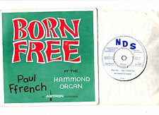 """DANCE"".PAUL FFRENCH.BORN FREE.UK ORIG 7"" EP & PIC/SL.EX"