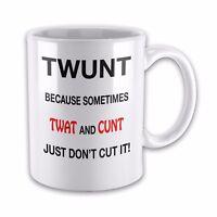 Twunt rude mug-tw*t fun mug-swear -novelty mug gift
