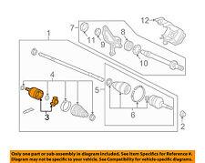 Acura HONDA OEM 12-14 TL-CV Joint-Inner 44310TK5405