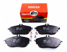 GENUINE BRAND NEW FRONT MINTEX BRAKE PADS SET MDB3242 (REAL IMAGES OF THE PARTS)