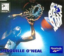 SHAQUILLE O'NEAL - Shoot Pass Slam 2TR PROMO CDM 1994 HIP HOP / REEBOK