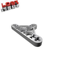 4 x [neu] LEGO Technik Liftarm flach 3 x 5 Dreiecksform - hellgrau - 99773