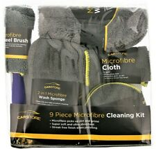 9pc Professional Microfibre Car Wash Cleaning Detailing Kit Auto Valeting Polish
