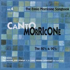 Ennio Morricone: Canto Morricone Vol 4 80's & 90's (New/Sealed CD)