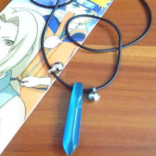 Blue Naruto Tsunade Uzumaki  Charms Necklace Pendant  Halskette Anime  Cosplay