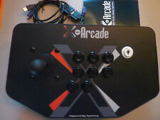 X-Arcade™ Solo Controller - zB RetroPie Projekt Arcade Fightstick Mame Hyperspin