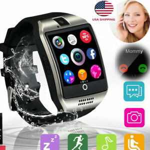 Men Women Smart Watch Unlocked Sports Watch Make Call for Android Samsung LG BLU
