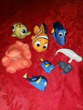 Baby Bath Squirt Toys Finding Nemo 3 Pcs Compact Size Easy Grip Nemo Dory Turtle