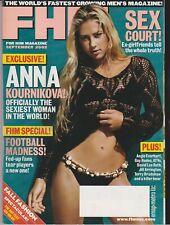 FHM MAGAZINE #25 SEPTEMBER 2002-A ANNA KOURNIKOVA
