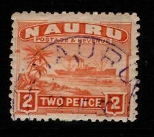 Nauru 1924 1928 Century Freighter 2d grey paper Sg29A Used