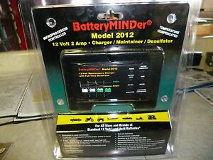 BatteryMINDer Charger/Maintainer/Desulfater-12V Model 2012