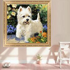 DIY 5D Diamond Painting Embroidery Cute Dog Cross Stitch Crafts Home Decor