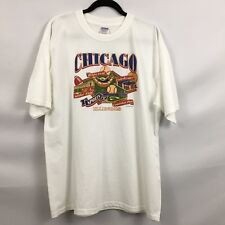 GILDAN XL ACTIVE WEAR PRE-OWNED SS GRAPHIC T-SHIRT FOR CHICAGO SPORTS FANS