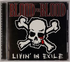 BLOOD FOR BLOOD: Livin' in Exile SEALED Victory Records CD Hardcore New