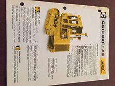 CATERPILLAR CAT D5B CRAWLER DOZER  BROCHURE ORIGINAL ANTIQUE TRACTOR