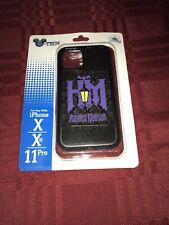 Disney Parks Haunted Mansion Logo Iphone Cover Case X/XS/11 PRO New