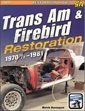 Best Trans Am Firebird Body etc Restoration Manual 1981 1980 1979 1978 1977 1976