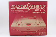 [Near Mint] SEGA SATURN Console System HST-0014 Boxed Working from Japan #072