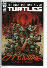 Teenage Mutant Ninja Turtles #100 IDW 2019 NM 9.4+ GN Dave Wachter cover.
