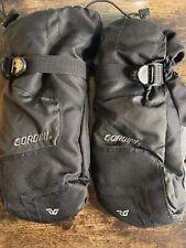 Waterproof Winter Gloves Large Women Snow Ski Gloves Black Mittens